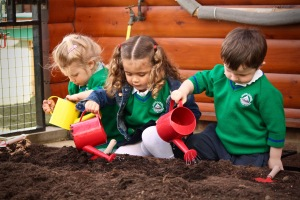 Moiunt Carmel pupils sowing the seeds of Sustainable St Albans Week