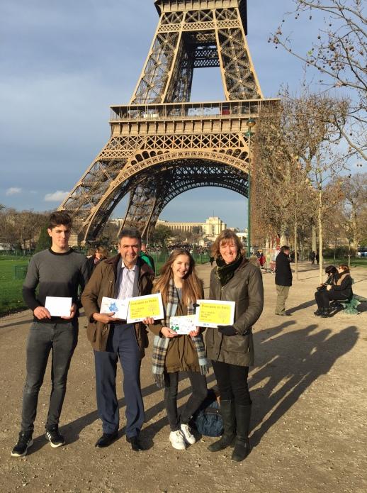 Eiffel tower - en route