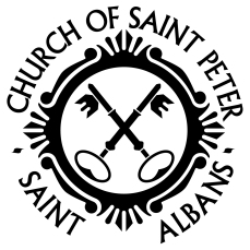 church of st peter logo outlined