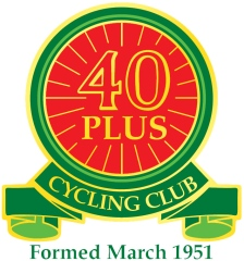 Forty Plus CC logo with strapline