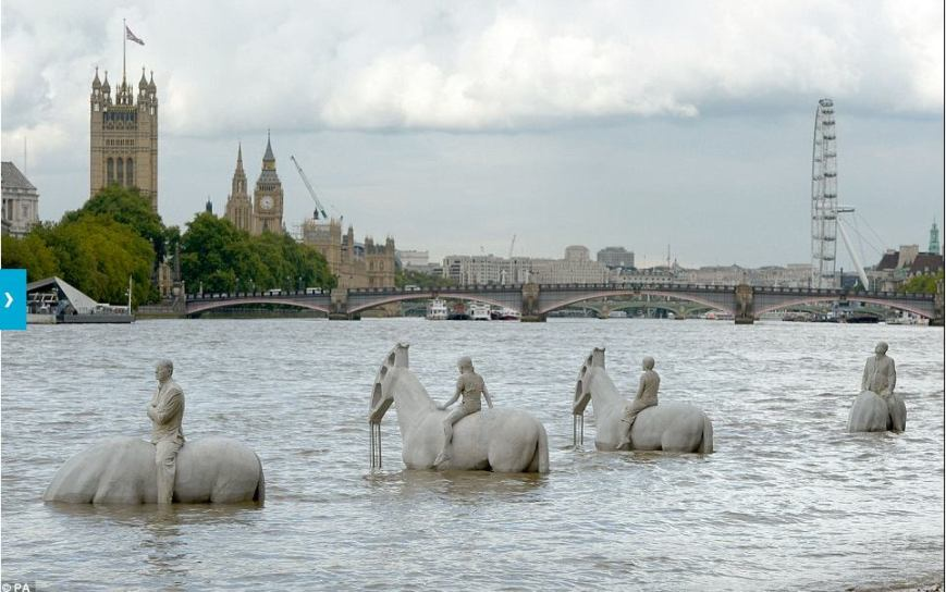 bronze-horses