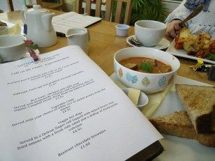 Cafe on the Corner vegetarian menu all week