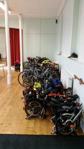 Cyclenation conference parking