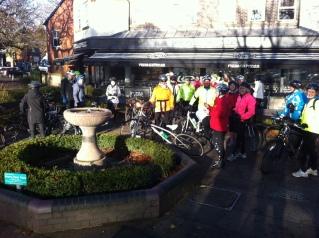 Graceful Greens womens bike ride Harpenden