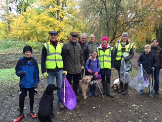 Cllr Chivers' Community Litter Pick