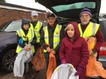 Park St Pickers - in all weathers!