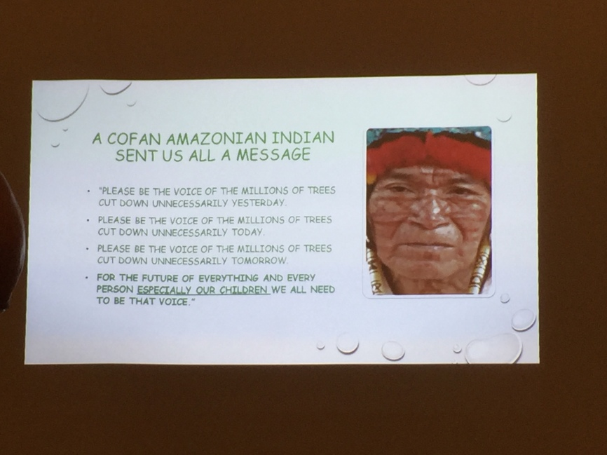 Amazonian messages