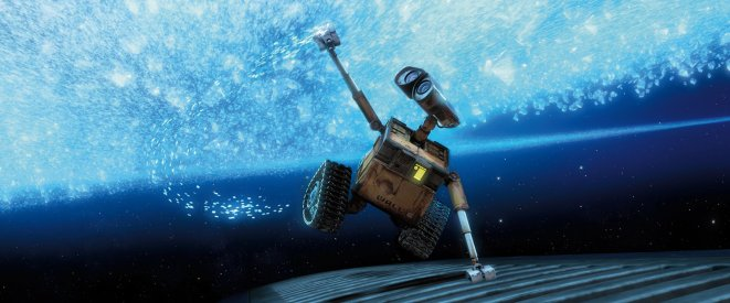 Wall-E at The Odyssey - a waste collecting robot