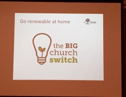 Churches work towards renewables