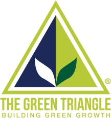 The Green Triangle logo New