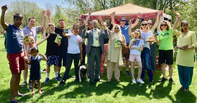 #plasticfree Community Picnic - Launch of Plastic Free St Albans during Sustainable St Albans Week 2018
