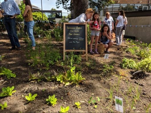Inc Edible Garden opening