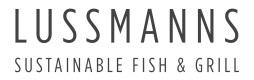 Lussmanns grayscale logo 2019