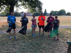 19-5 155 Redbourn runners plogging