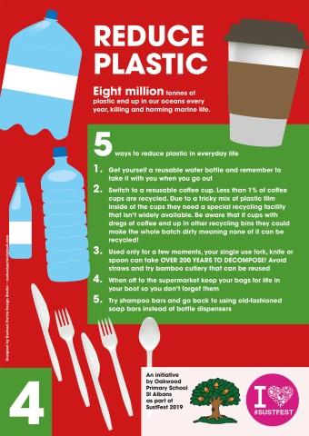 4. Reduce Plastic