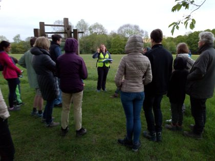 Bat Walk on Harpenden Common