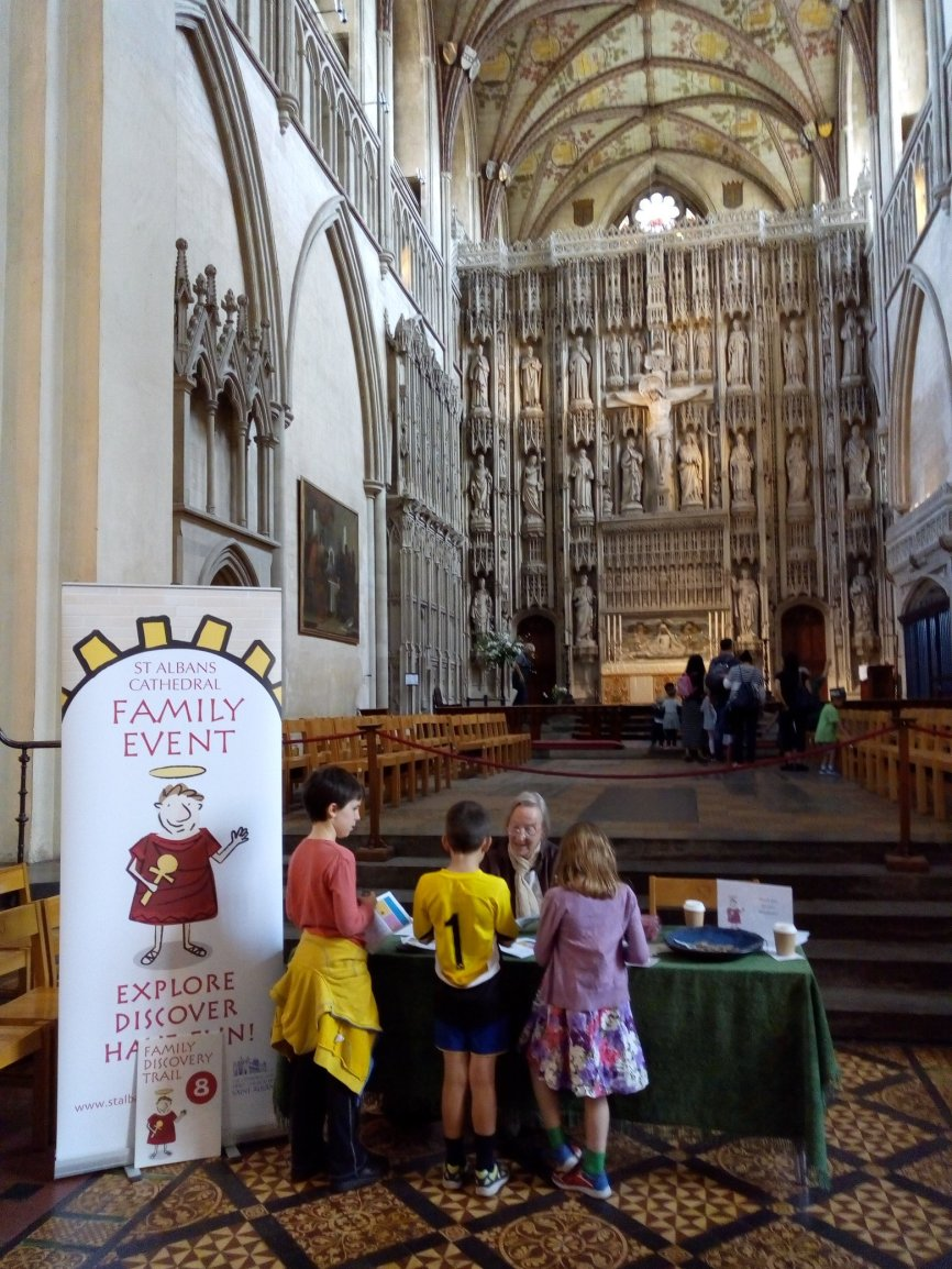 Family Discovery Morning at St Albans Cathedral