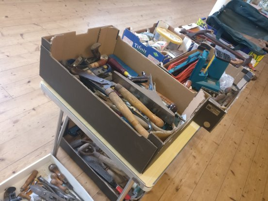 Dagnall Street Baptist Church Tool Collection