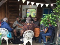 traditional music at Earthworks