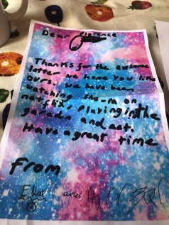 Lockdown competition - Ella age 9 writing