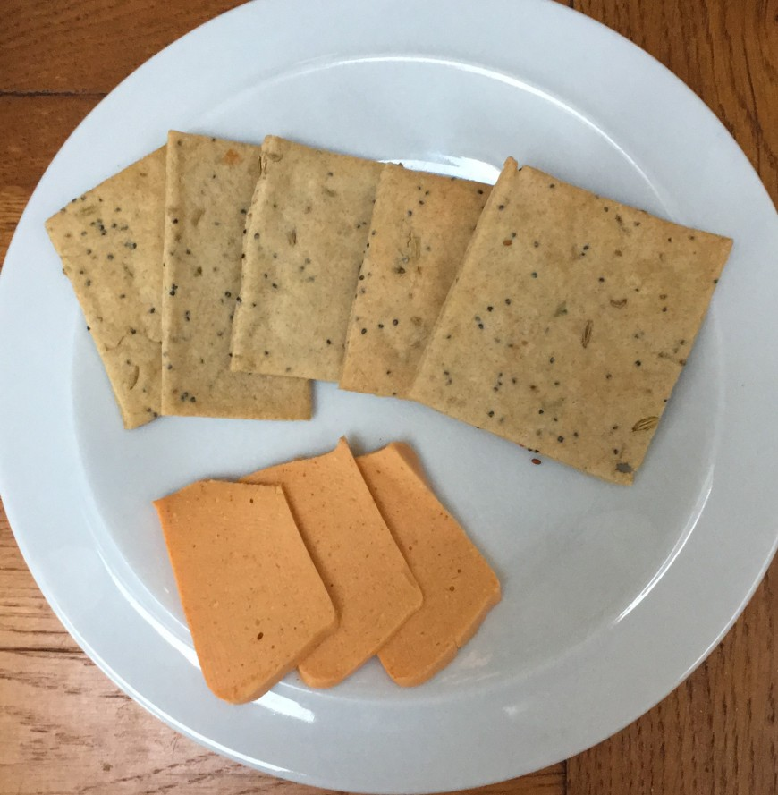 Plastic Free - Part 4 - Homemade cheese and crackers photo 2